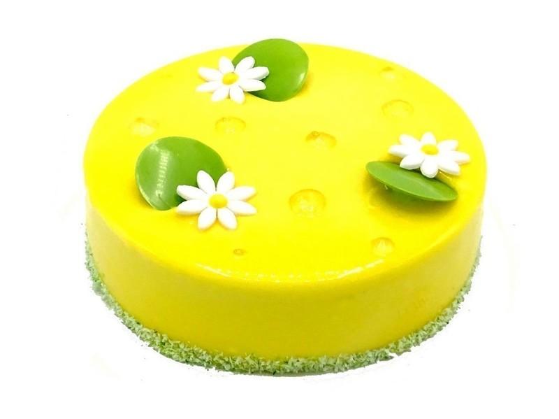 Mango limoen taart