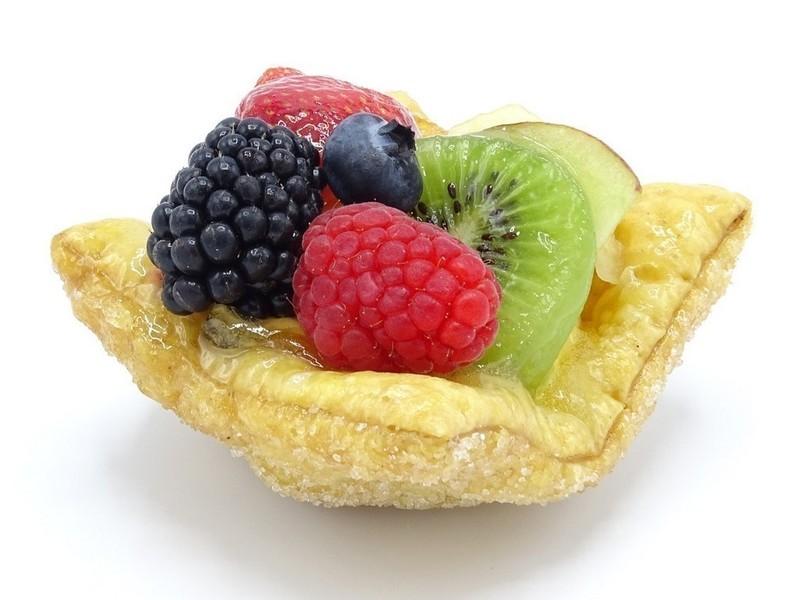 Fruit schelpje