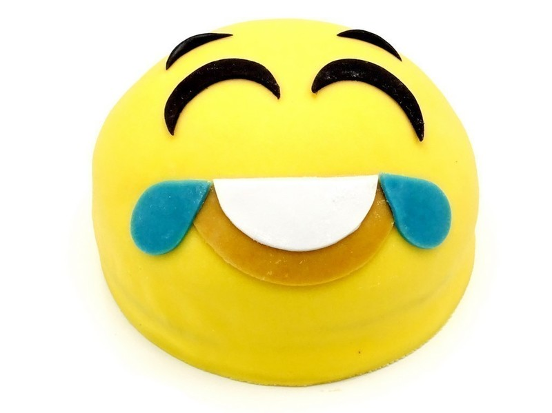 Emoticon taart