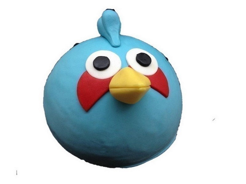 Angry Bird vogel taart