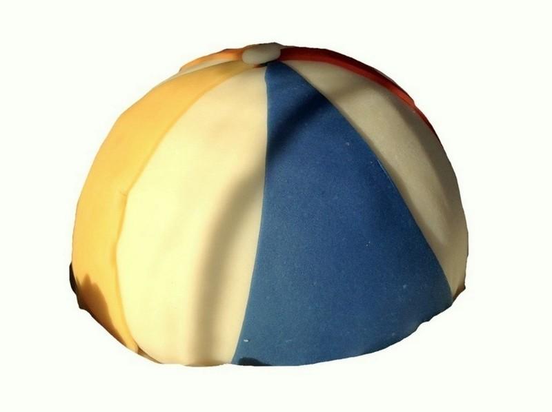 Strandbal taart