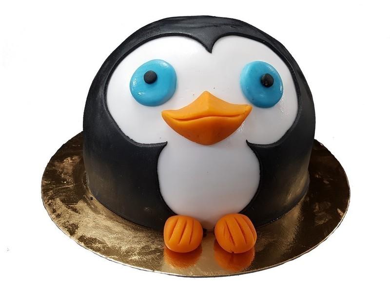 Pinguin taart