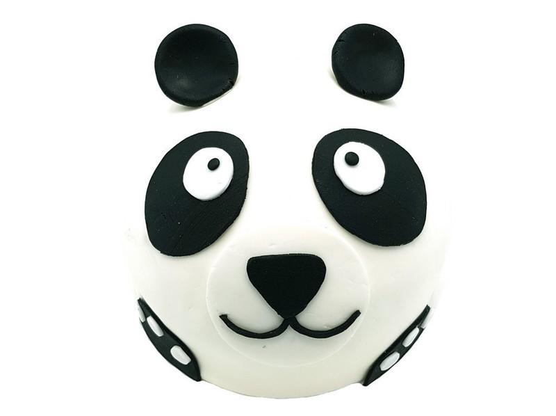 Panda beer taart