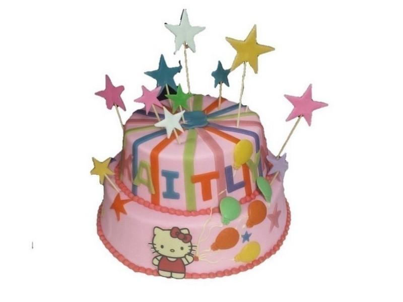 Stapel taart Hello Kitty