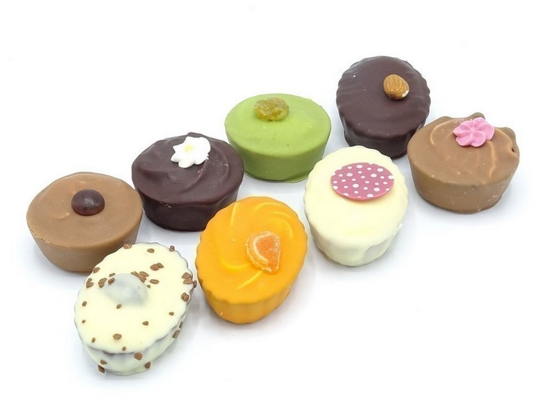 Chocolade petit fours