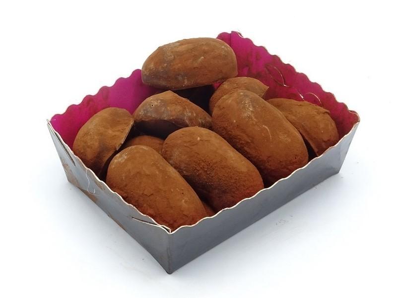 Slagroom truffels doosje